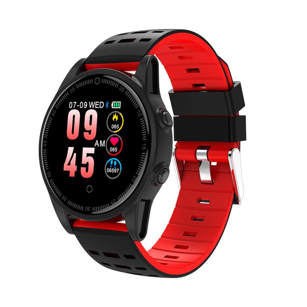 Amazon.com: FEDULK Smart Watch Sports Fitness Calorie Heart ...
