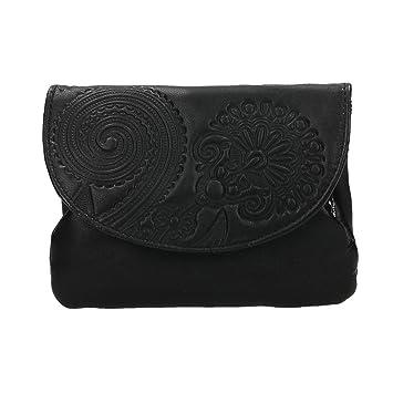 Portamonedas Monedero de Mujer Lugupell Color Negro