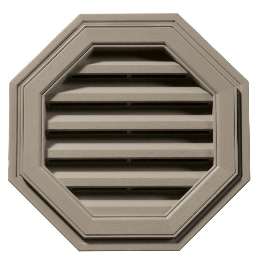 Builders Edge 120011818097 18'' Octagon Vent 097, Clay