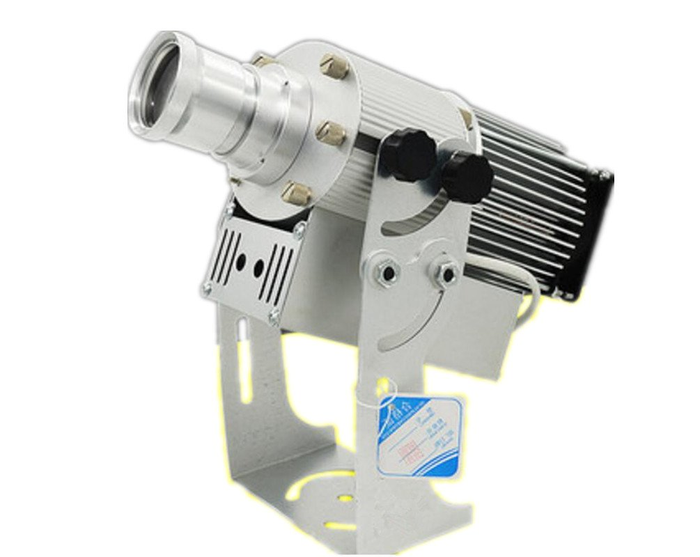 80W LED Gobo Advertising Logo Projector Lamp Light with 1 Color Film (Rotating and Water-proof)