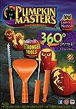 Pumpkin Masters 360 Degree Carving Kit Halloween New Method Stronger Tools