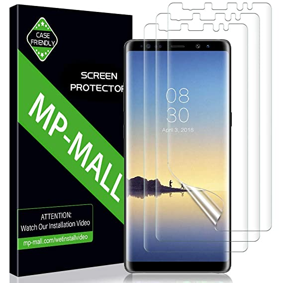 7fbf1ad7879 Amazon.com: MP-MALL [3-Pack] Screen Protector for Samsung Galaxy ...