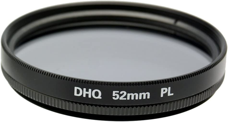 Fujiyama Black 52mm Polarizing Filter for Panasonic Lumix G Vario 14-45mm F3.5-5.6 ASPH OIS Made in Japan