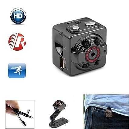 SQ8 Mini Cámara HD 1080P Cámara de seguridad en casa Mini Cámara WIFI Fotografía Aérea al ...