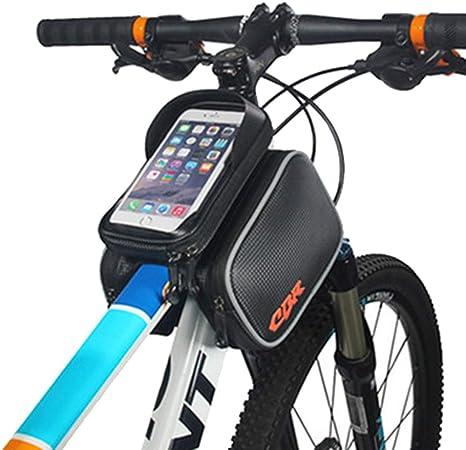 Bolsa Delantera de Bicicleta táctil Bolsa de teléfono móvil Bolsa ...