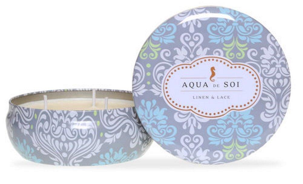 21 Ounces SOI Company Aqua de SOi 100/% Premium Natural Soy Candle Triple Wick Agave Blossom The SOi Company 700801