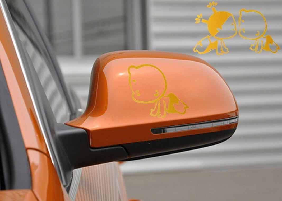 Car side mirror sticker design - Outlet Welcomeuni Diy Car Sticker Fashion Skull Design 3d Decoration Sticker For Car Side Mirror