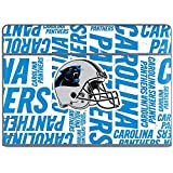 Skinit NFL Carolina Panthers Galaxy Book Keyboard Folio 10.6in Skin - Carolina Panthers - Blast Design - Ultra Thin, Lightweight Vinyl Decal Protection