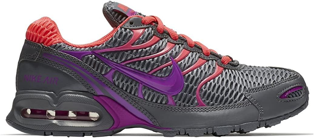 Nike Women s Air Max Torch 4 Running Shoe Cool Grey Hyper Violet Hyper Punch Size 7.5 M US
