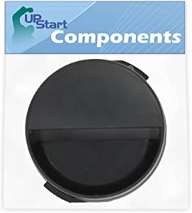 2260502B Refrigerator Water Filter Cap Replacement for Whirlpool ED2KHAXVS02 Refrigerator - Compatible with WP2260518B Black Water Filter Cap - UpStart Components Brand