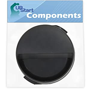 2260502B Refrigerator Water Filter Cap Replacement for Whirlpool ED5FHAXVT00 Refrigerator - Compatible with WP2260518B Black Water Filter Cap - UpStart Components Brand