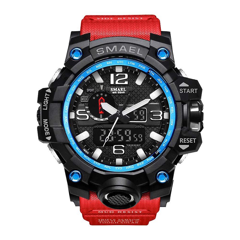 Bain uojia Digital Relojes para niños - Resistente al agua Outdoor Sports Digital Relojes analógico reloj de pulsera con despertador/Cronómetro/LED de luz, ...