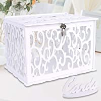 OurWarm Caja de tarjeta de boda DIY