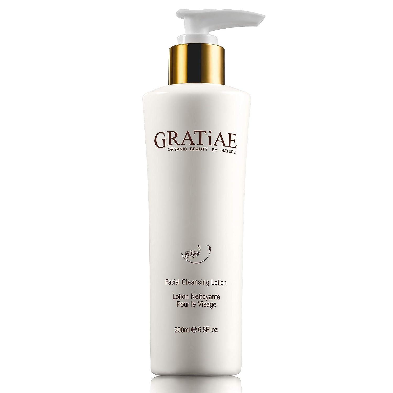 Gratiae Organics Facial Cleansing Lotion, 6.8-Ounce : Facial Cleansing Creams : Beauty