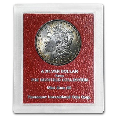 1897 Morgan Dollar MS-65 (Redfield Hoard) $1 MS-65