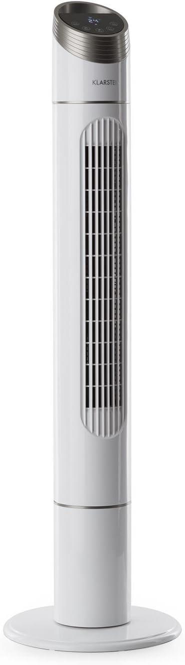 Klarstein Sky High Ventilador de Torre • Indicador de Temperatura ...