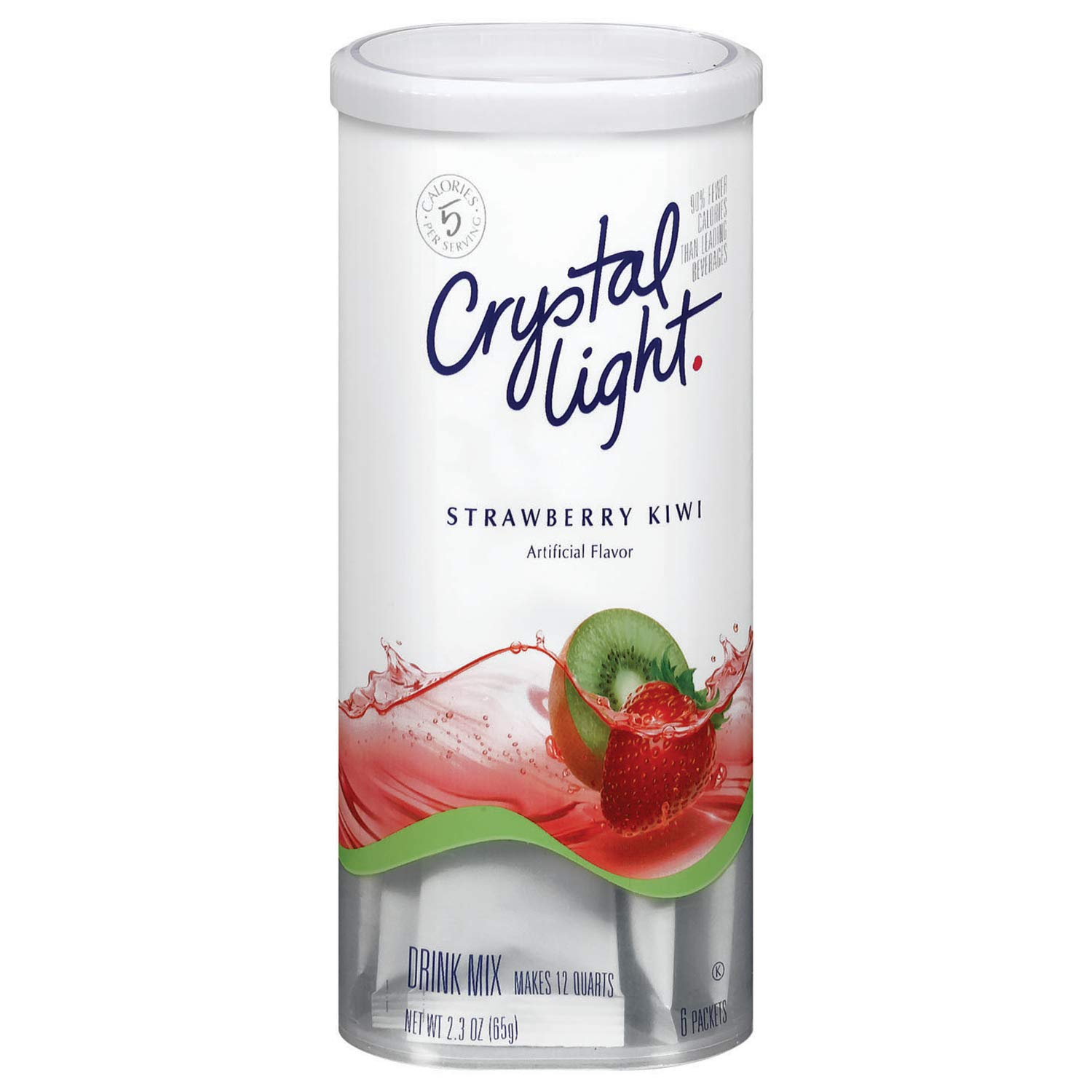 Crystal Light Strawberry Kiwi Drink Mix (Pack of 4)