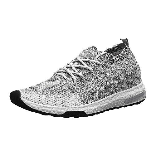 Tefamore Zapatillas Running para Hombre Aire Libre Deporte Transpirables Casual Gimnasio Correr Ligero Sneakers 39-44: Amazon.es: Zapatos y complementos