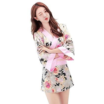 Divertido Sexo para Mujer Pijama Camisón Floral Japonés ...