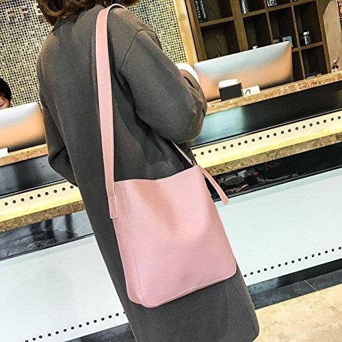 Amazingdeal365 1 Set Tasche &Geldbörse Brieftasche mit Ethno Muster, Vintage Design (C) B