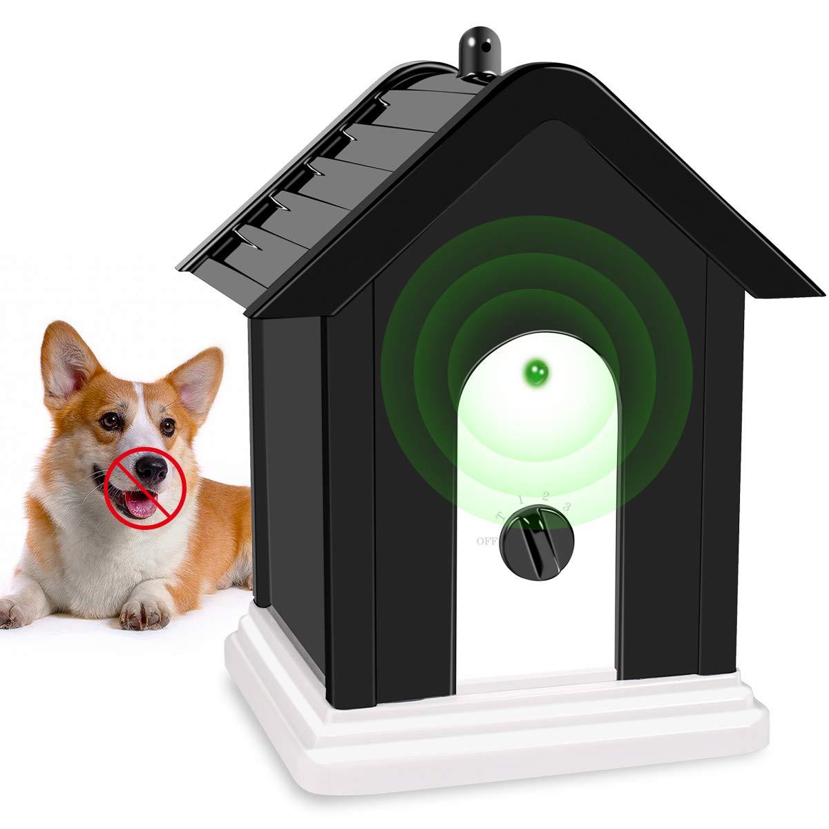 Anti Barking Device, Bark Box Dog Barking Control Devices, Ultrasonic Sonic Dog Repellent Anti Bark Deterrents Devices, Bark Control Device, Birdhouse Barking Deterrent, Dog Repellent, Bark Control by Vitorun