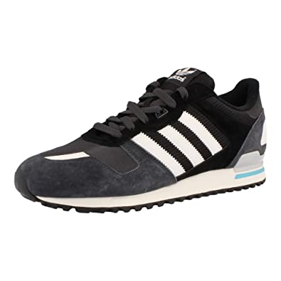 size 40 3efc9 c0bc8 adidas Mens Originals Mens ZX 700 Trainers in Black-White - UK 13.5