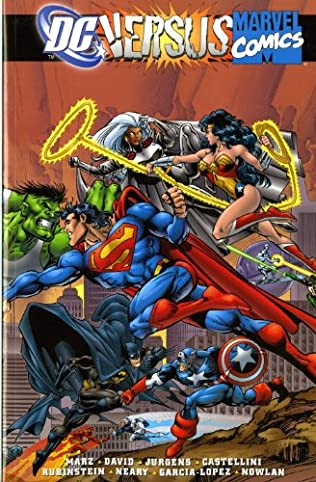 book cover of DC Versus Marvel