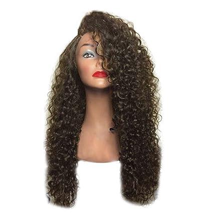 Babysbreath17 Muchachas de las mujeres de pelo largo rizado ondulado de cabeza completa pelucas cosplay costome