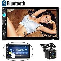 Camecho Bluetooth 2 DIN Car Estéreo 7010B 17.8