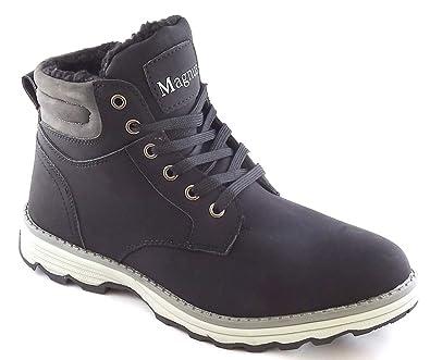 sports shoes ca382 99d25 Herren Stiefel Boots Warmfutter Winterschuhe Gr.40-46 -SD155