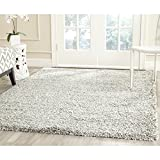 Safavieh New York Shag Collection SG165-8080 Grey Area Rug (8′ x 10′) Review