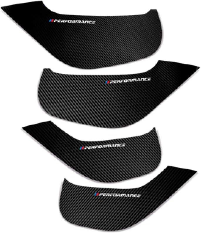 JHDUSK Car Styling Door Anti Kick Pad PVC Side Edge Film Protector Stickers for BMW E90 F30 F10 F20 F25 F26 F15 F16 E70 E84 X1 X3 X5Car Decoration