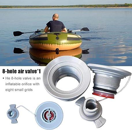 Deluxe PVC Luftventilschlüssel 6 Nutschlüssel Für Schlauchboot Kajak
