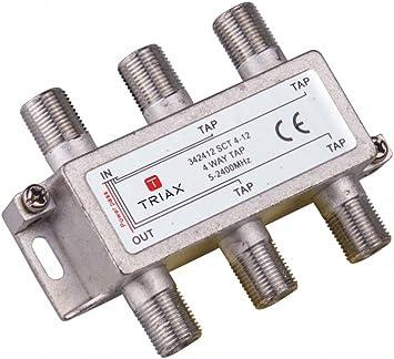 Triax pasivos - Derivador 4 salidas sct 4-12 atenuación 10db ...