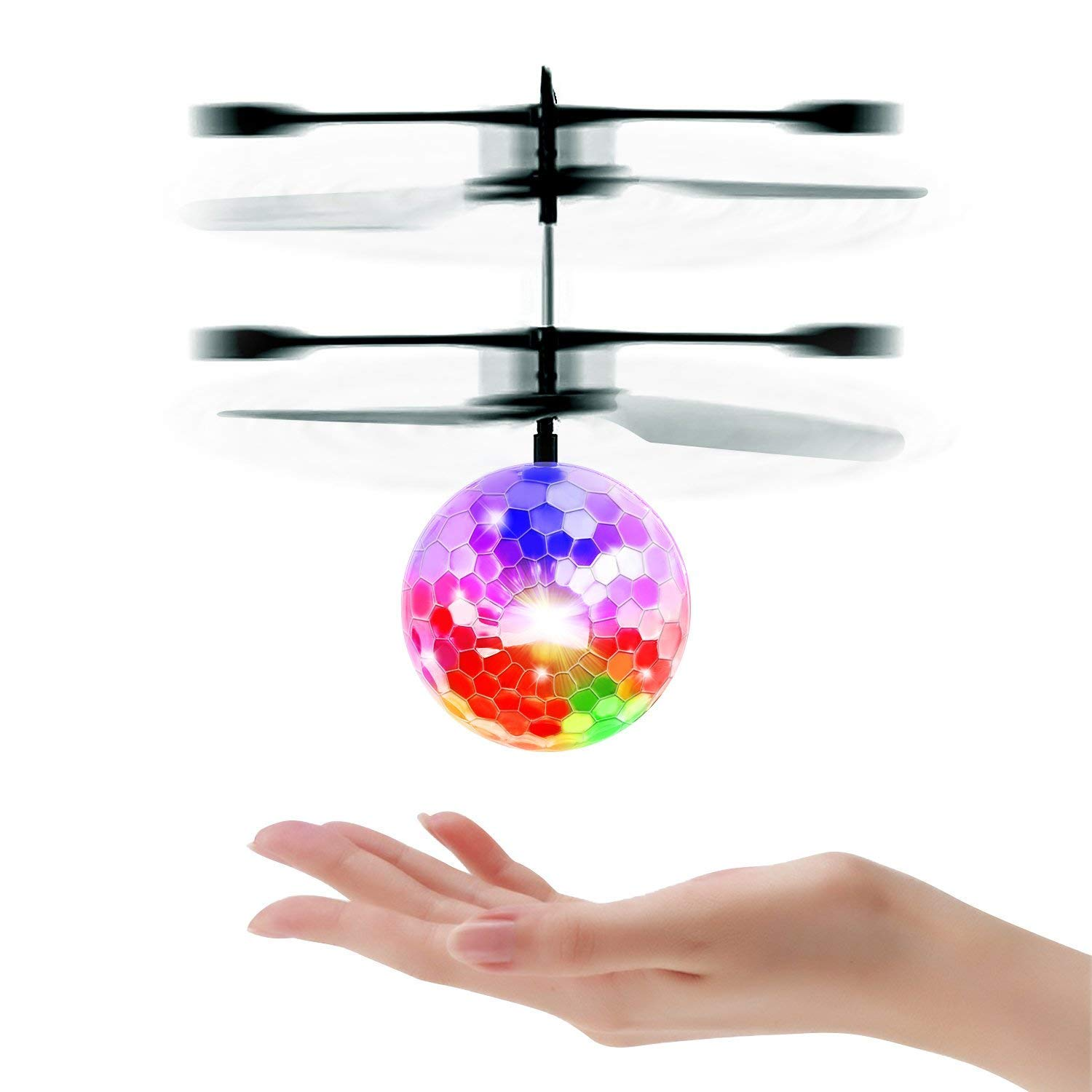 Mini RC Flying Magic Fun Illuminated Ball