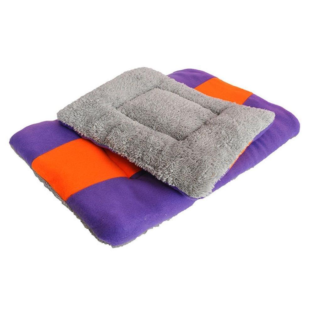 S Dixinla Pet Bed Dog Mat Pet Mat Dual color Dog Blanket Warm pet nest cat Dog General Cotton + Velvet