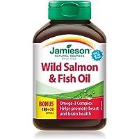 Jamieson Wild Salmon & Fish Oils Omega-3 Complex 1000 mg, 200 soft-gels