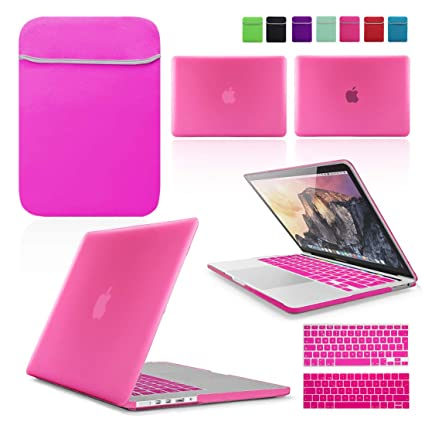TP HOT PINK Keyboard Cover Skin for Macbook Air 13/""