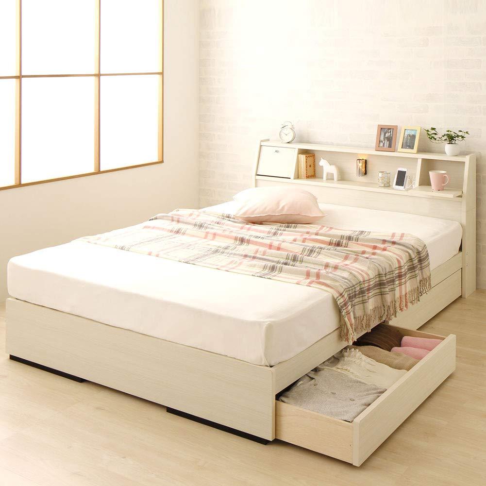 一人暮らしにおすすめの収納付きベッド