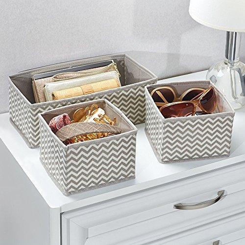 DIY Home Closet/ Drawer Storage Organizer set of 3. Chevron