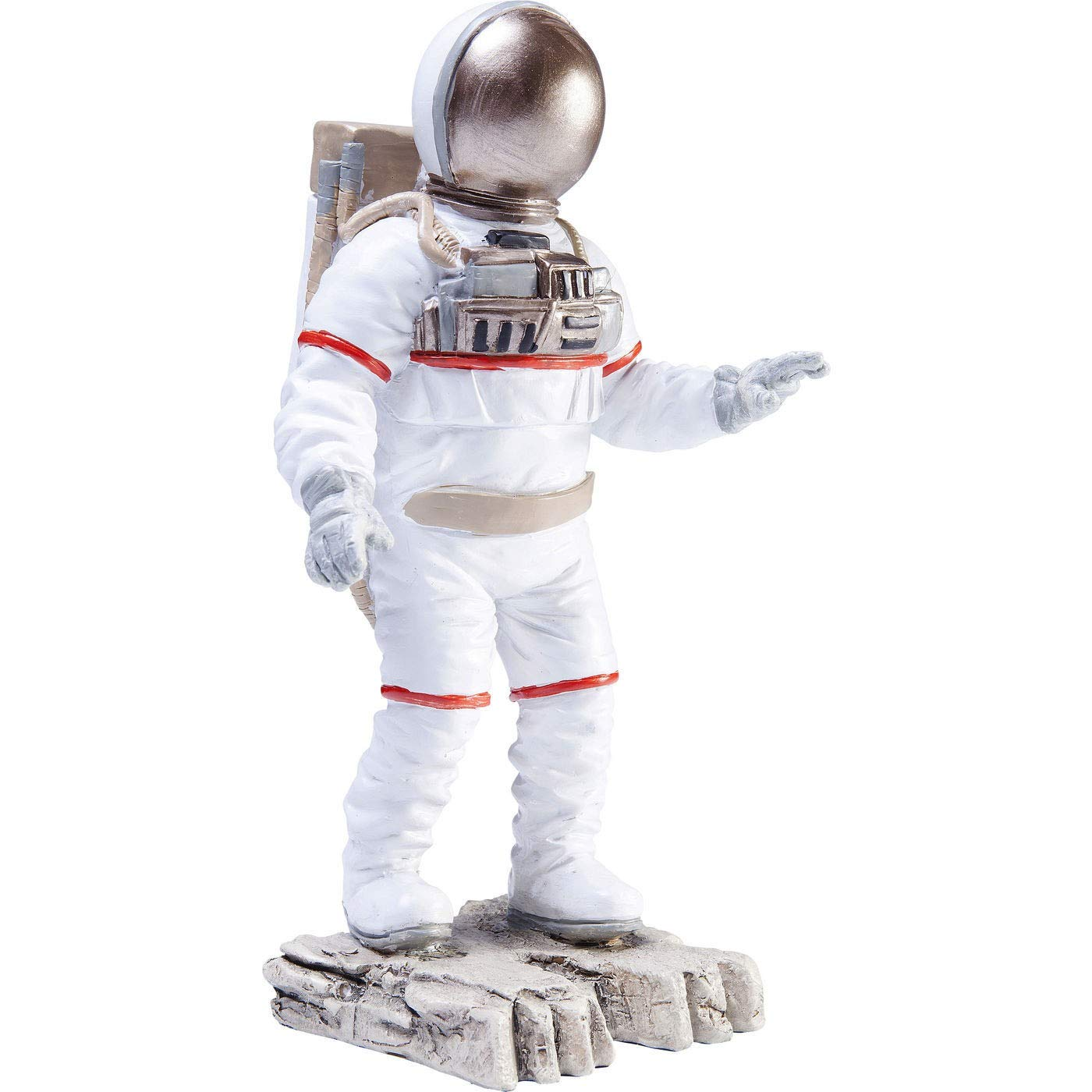 Figurine d/écorative Astronaute Blanc Moon 23 cm Kare Design