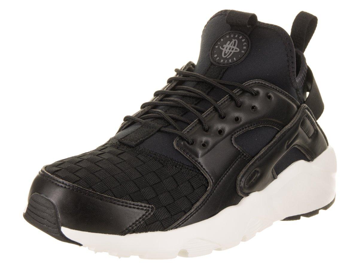 NIKE Men's Air Huarache Run Ultra SE Running Shoe B07BV6FQP3 8.5 D(M) US|Black/Dark Grey Sail Black