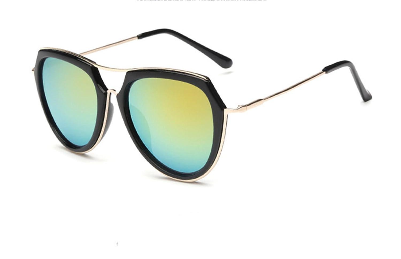 Wer Bin Ich Frau Retro-Brille Personalisierten Frosch Trimmen Metall Neue Sonnenbrille,White
