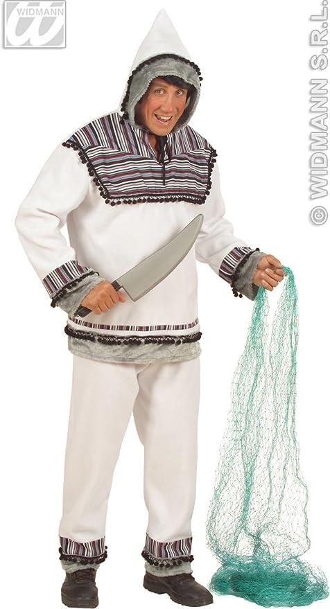 WIDMANN Aptafêtes ? cs925780/M ? Disfraz Esquimal Franela Hombre ...