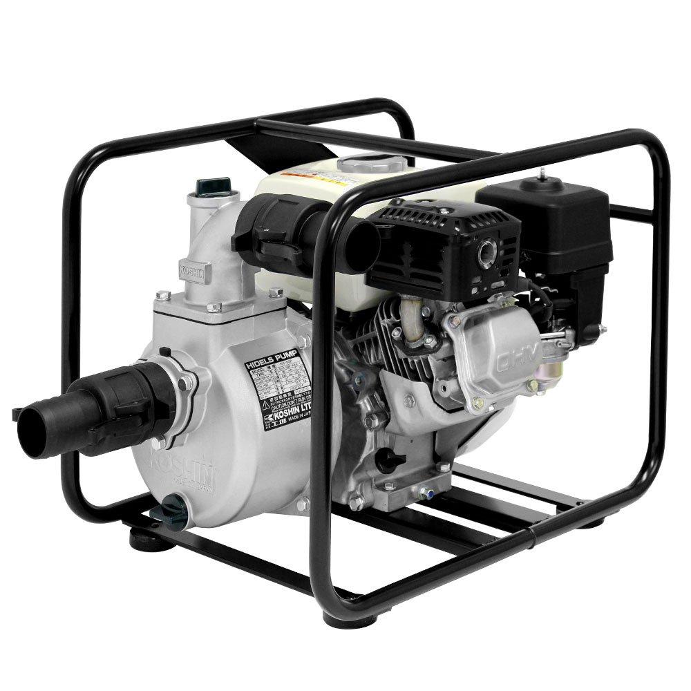 工進 4サイクル エンジンポンプ ハイデルスポンプ KH-50P 50mm(2インチ) ホンダエンジン搭載 B00Y1WF2UQ