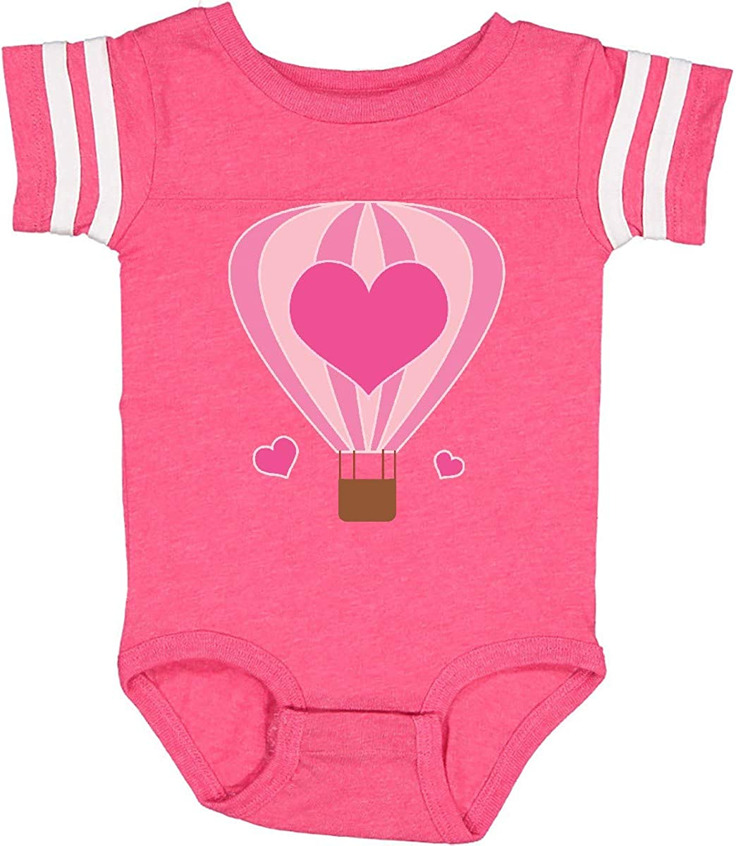 inktastic Valentine Hot Air Balloon Infant Creeper