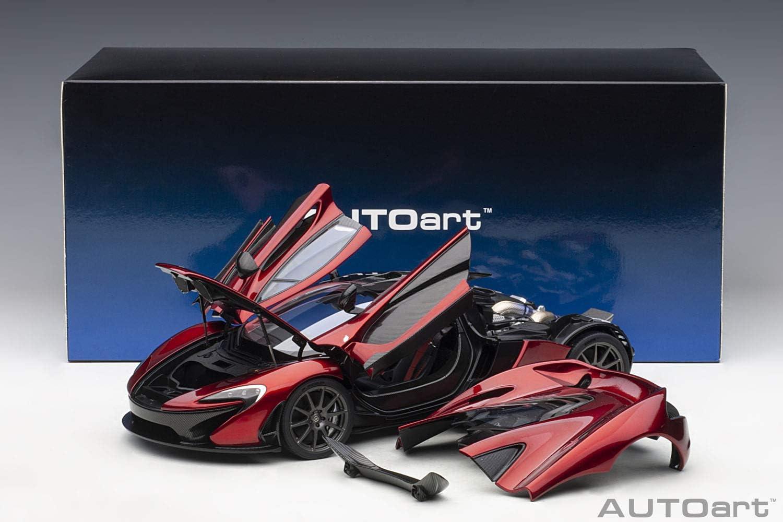 - Volcano Red 2013 Neu AUTOart 76062-1//18 McLaren P1