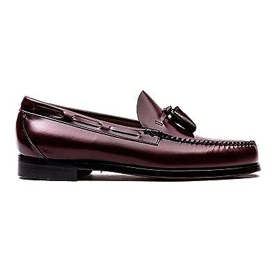 G.H. Bass - Mocasines para hombre negro negro: Amazon.es: Zapatos y complementos
