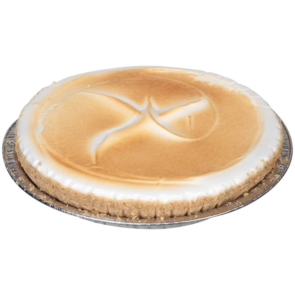 Sara Lee Chef Pierre Lemon Traditional Meringue Pie, 10 inch - 6 per case.