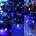 [UL Listed]Outdoor LED String Lights,18 feet 50 LEDs Mood Lighting Strands,Diamond Strawberry C3 Bulbs, Christmas Lights,for Patio Garden Holiday Wedding Decor--MAXINDA